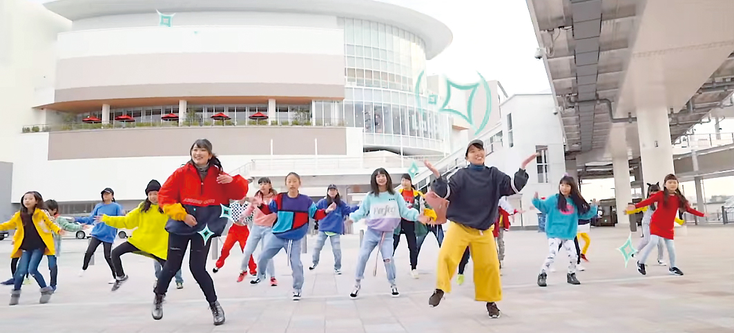 #海老名をダンスで盛り上げよう! EBINA ダンス発信中!