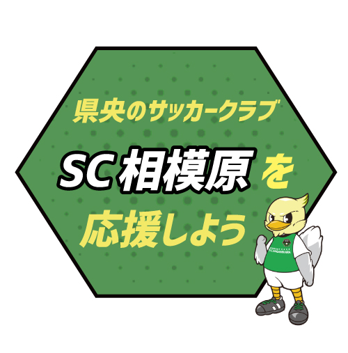 県央のサッカークラブ SC相模原を応援しよう!