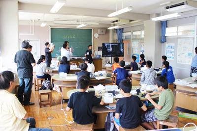 こどもプログラミング教室in杉久保小学校 2days