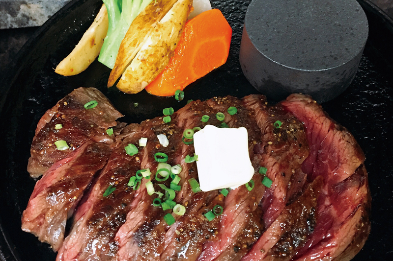 vol.3  ステーキとハンバーグの店  海老食グリル