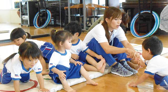 vol.6 総合体育館 海老名運動公園 カワイ親子体操教室